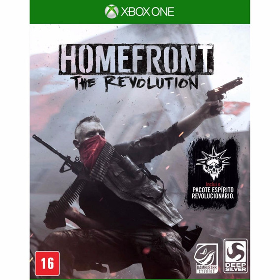 Homefront The Revolution - Xbox One - Mídia Física