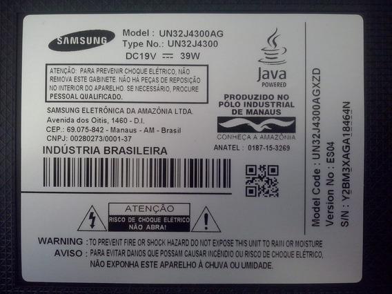 Cabo Flat Usado Tv Samsung 32 - Mod.un32j4300ag