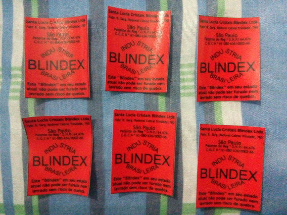 Kit 15 Adesivos Blindex Corcel Belina Pampa Delrey Selo Blin