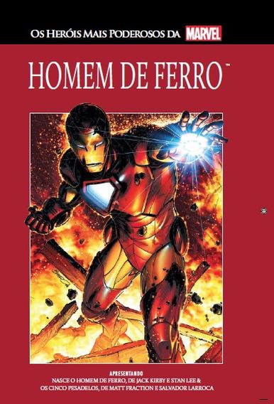 Hq - Homem De Ferro - Salvat Capa Vermelha