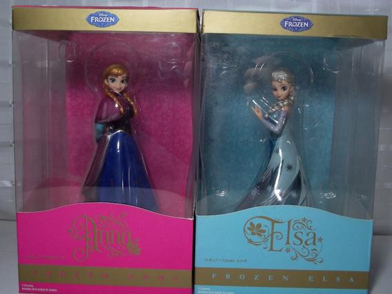 Frozen Elsa E Anna - Figuarts Zero - Originais