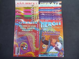 A Saga Do Cavaleiros Do Zodíaco - Revista Heróis Do Futuro
