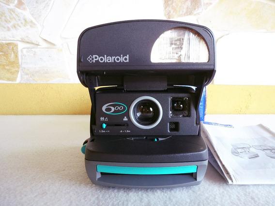 Câmera Polaroid 600 Caixa E Manual ( Sem Teste )