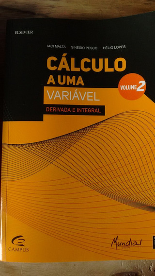Livro De Calculo Em Uma Variável Volume 2