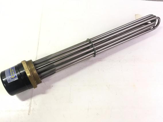 Resistência Elétrica Tubular De Imersão 15000w Rosca 2