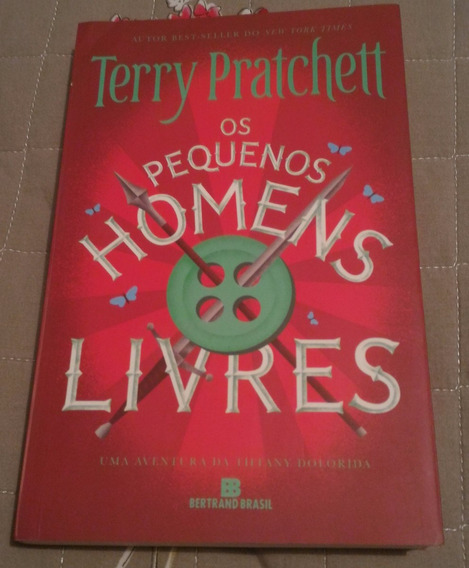 Livro Os Pequenos Homens Livres, Terry Pratchett, Excelente