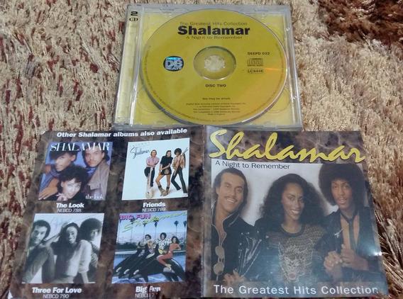 Shalamar The Greatest Hits Cd Duplo Ingês Rarissimo!