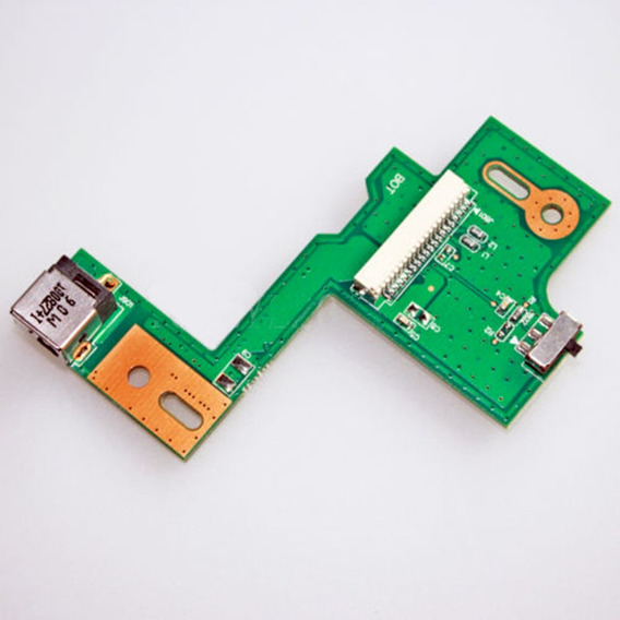 Placa Power Jack Asus N53 N53sn N53 N53ta Rev 2.0 Nova J6