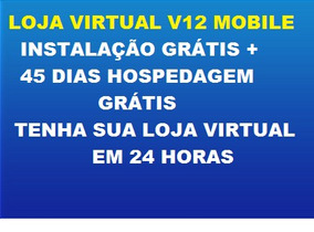 Loja Virtual V12 Mobile