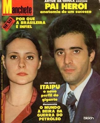 Manchete 1979 Zico Itaipu Clodovil Saara Yoga Ana Capaldi
