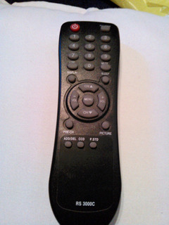 Control Remoto Original Tv Codigo Rs 3000c