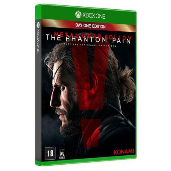Game Xbox One Metal Gear Solid V: The Phantom Pain Day One E