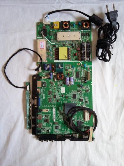 Placa Tv Semp Dl 2971(b)w (com Defeito)