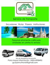 Transporte Turístico En La Isla De Margarita.
