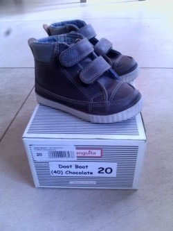 Botas Bebe Botanguita T20 Marron Chocolate Dos Usos