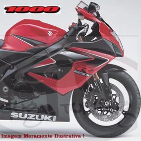 Adesivo Suzuki Srad 1000 2007 Vermelha Material Oracal
