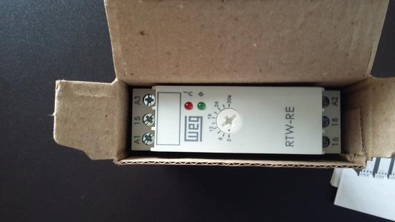 Rele De Tempo Eletrônico Rtw-re01 3-30s 220-240vac/24vdc Weg