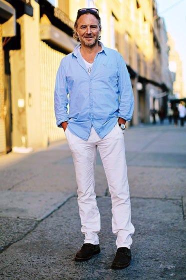 Pantalon Jean Gabardina Blanco Semichupin Recto De Onda !!!
