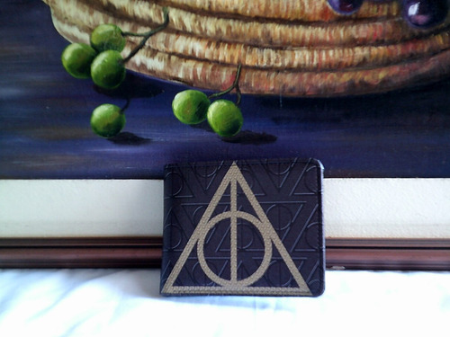 Imagen 1 de 3 de Harry Potter Reliquias D La Muerte Cosplay : Billetera Cuero