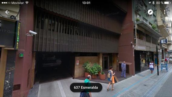 Alquiler Cochera Fija Microcentro, Esmeralda Y Viamonte