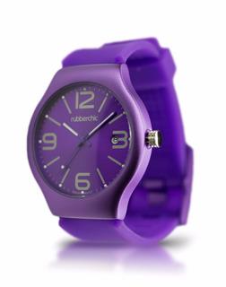 Reloj Rubberchic Pulse Dark Purple