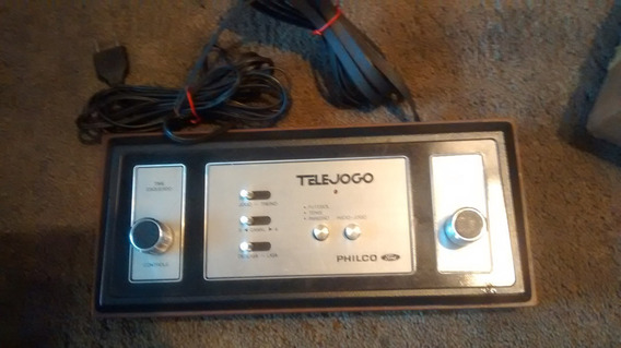 Console Telejogo Philco Video Game Tele Jogo Original