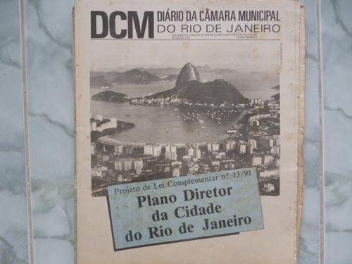 Plano Diretor Da Cidade Do Rio De Janeiro Lei 13/91 1991