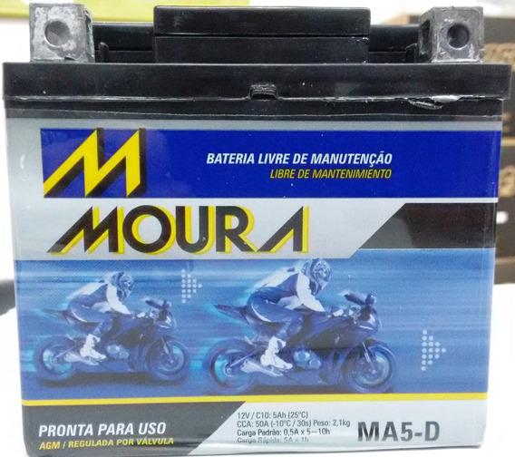 Bateria Smart 125 Smart125 Dafra Cg Biz Bros Xre Ybr Ma5-d
