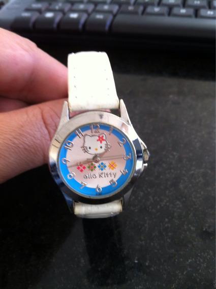 Lindo Relógio Hello Kitty Kids Quartz Analógico Caixa De Aço