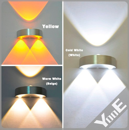 Luminária De Parede - 3 Pçs