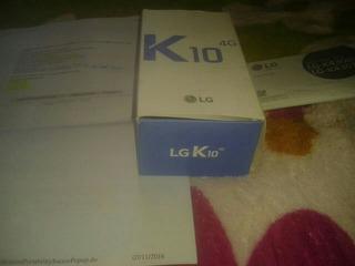 LG K10 Novo Na Caixa Com Nota Fiscal E Tudo Encluso So Venda
