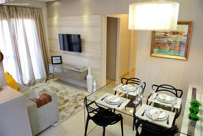 Apartamento A Venda Em Limeira, Chácara Antonieta, 2 Dormitórios, 1 Suíte, 2 Banheiros, 1 Vaga - Ap172