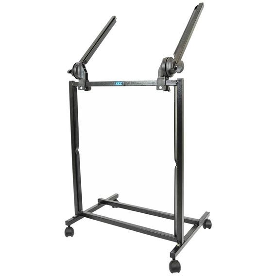 Rack Musical Ask M19l Estúdio Palco Mesa Potência Equalizador Periféricos Ajuste Inclinação Largura Com Nota Fiscal