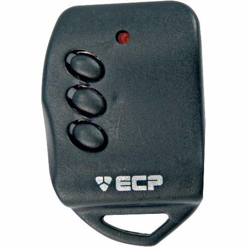 Controle Remoto Alarme Portão 433mhz Key 3 Botões Ecp
