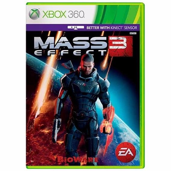 Jogo Mass Effect 3 Xbox 360 E Xbox One Mídia Física Nfe