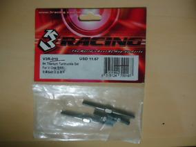 Braços De Linkagem - V3r-010 64 Titanium Turnbuckle Set
