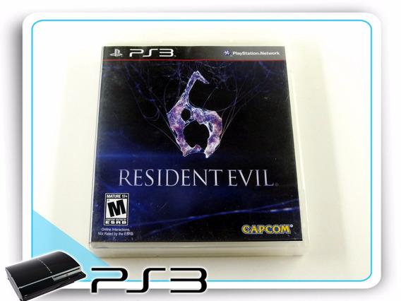 Ps3 Resident Evil 6 Original Playstation 3