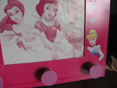 Perchero-portarretrato Diseño Disney