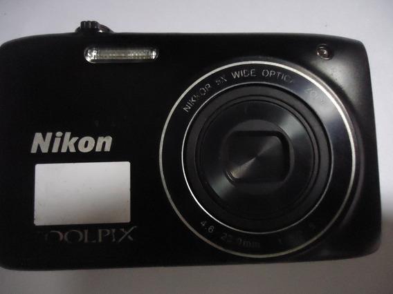 Câmera Nikon Coolpix S3100 (não Vai Bateria E Carregador)