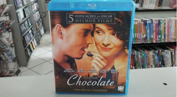 Blu Ray Chocolate - Johnny Depp