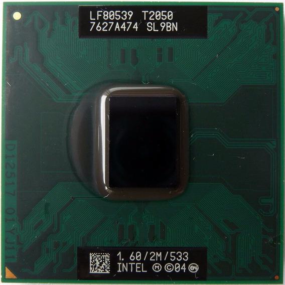 Intel Core Duo T2050 Sl9bn 1.60ghz/2mb/533