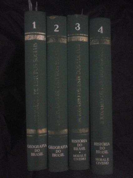 Coleção Completa Ilustrada Antiga De Historia Moral E Civic