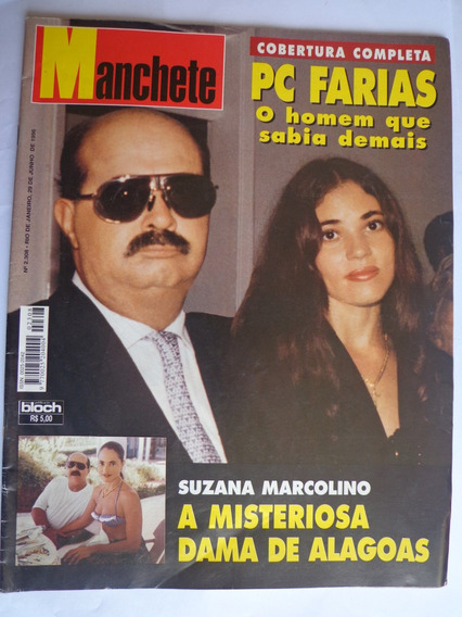 Manchete 2308 Jun 96 A Morte De Pc Farias E Suzana Marcolino