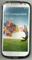 Capa De Tpu Para Samsung Galaxy S4 I9500 - Preto Fumê