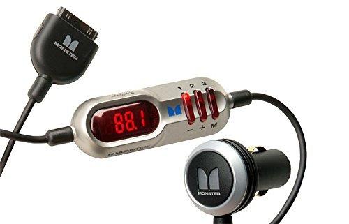 Modulador Fm E Carregador Monster Icarplay Wireless Plus