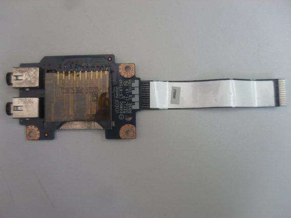 Placa Áudio E Cardreader Notebook Lenovo G475 Series