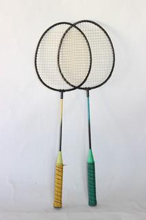 Raquetes De Badminton Feites De Ferro Resistentes Semi Novas