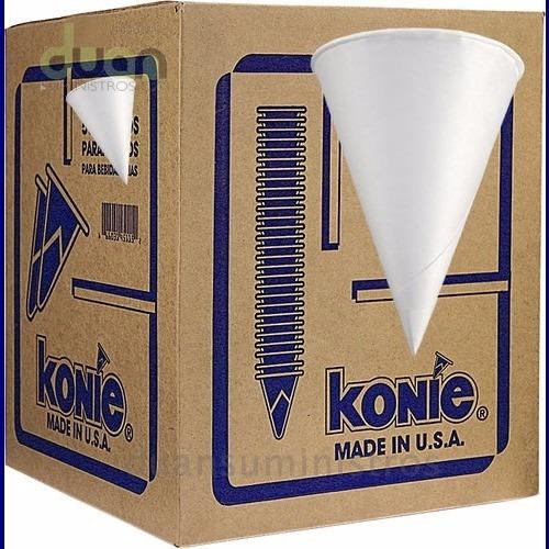 Caja De Vasos Conicos Papel - Konie 15x150 (2.250 Vasos)