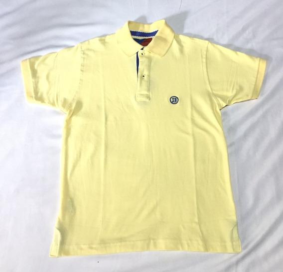 Camisa Polo Smith Brothers Amarela