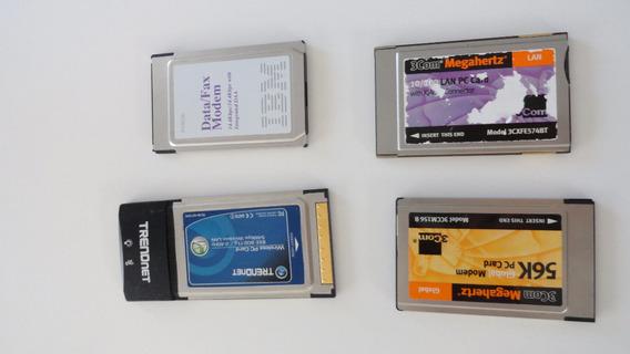 Pack De 3 Placas Pcmcia